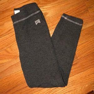 Nine gray thermal leggings size small